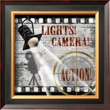 Lights! Camera! Action! Prints by Conrad Knutsen