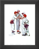 Choosin' Up Prints by Norman Rockwell