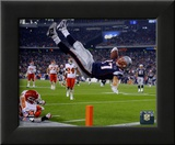 Rob Gronkowski 2011 Action Framed Photographic Print