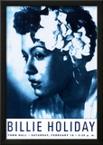 Billie Holiday at Town Hall, New York City, 1948 Art by Dennis Loren