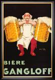 Biere Gangloff Posters by Jean D' Ylen