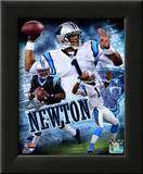 Cam Newton 2011 Portrait Plus Framed Photographic Print