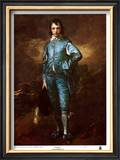 The Blue Boy Print by Thomas Gainsborough