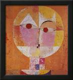 Senecio Prints by Paul Klee