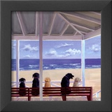 Dogs Eyeview Prints by Carol Saxe