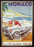 8th Grand Prix Automobile, Monaco, 1936 Posters by Geo Ham