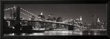 Brooklyn Bridge and Manhattan Skyline Art by Graeme Purdy