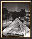 La Pyramide de Louvre Art by Serge Sautereau