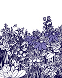 Purple Bloom Serigraph by  Brainstorm