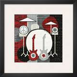 Rock 'n Roll Drums Posters by Michael Mullan