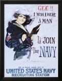 Gee!! I Wish I Were a Man, c.1918 Poster by Howard Chandler Christy