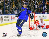 NHL Vladimir Tarasenko 1st NHL Goal 2012-13 Action Photo