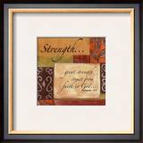 Words to Live By, Strength Art by Debbie DeWitt