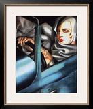 Autoportrait Prints by Tamara de Lempicka