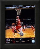 Michael Jordan 1996 Action Framed Photographic Print