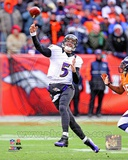Joe Flacco 2012 AFC Divisional Playoff Game Action Photo