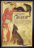 Clinique Cheron, c.1905 Art by Théophile Alexandre Steinlen