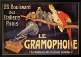 Gramophone Prints by Charles Bombled