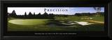 Precision: Golf Poster by Bruce Curtis