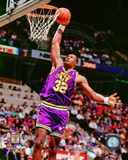 Karl Malone 1990 Action Photo