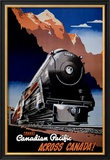 Canadian Pacific Train Art
