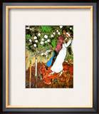 Three Candles Prints by Marc Chagall
