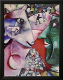I and the Village Art by Marc Chagall
