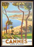 Ete Cannes Hiver Posters by  Peri
