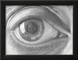 Eye Poster by M. C. Escher