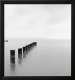 Lake Michigan Morning, Chicago, 2001 Posters by Michael Kenna