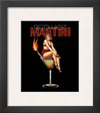 Red Hot Martini Prints by Ralph Burch