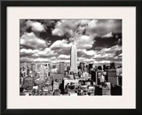 New York, New York, Sky Over Manhattan Art by Henri Silberman