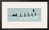 Birds on a Wire - Dream Posters by Alain Pelletier