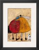 Hugs on the Way Home Posters by Sam Toft