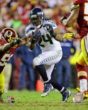 Marshawn Lynch 2012 Playoff Action Fotografía