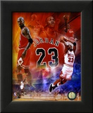 Michael Jordan 2011 Legends Composite Framed Photographic Print