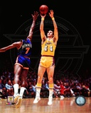 Jerry West 1975 Action Photographie
