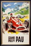 Grand Prix De Pau Prints by Geo Ham