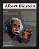 Heroes of the 20th Century - Albert Einstein Posters
