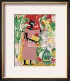 In the Garden, c.1974 Posters by Romare Bearden