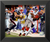 Mario Manningham Catch Super Bowl XLVI Framed Photographic Print