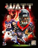 NFL J.J. Watt 2013 Portrait Plus Photo