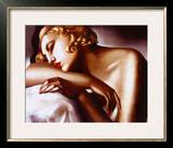 La Dormeuse Poster by Tamara de Lempicka