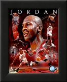 Michael Jordan 2011 Portrait Plus Framed Photographic Print