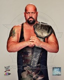 Big Show with World Heavyweight Championship Belt 2012 Posed Photo