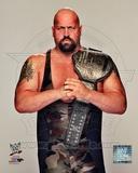 Big Show with World Heavyweight Championship Belt 2012 Posed Photo