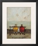 Bums on Seat Poster by Sam Toft