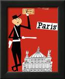 Paris Prints by Miroslav Sasek