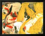 In the Sky Print by Willem de Kooning