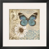 Butterfly Garden II Posters by Conrad Knutsen